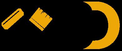 BD maler logo der er transparent